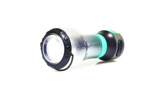 UCO Linterna Tetra LED con cargador USB - Iluminación para camping - negro